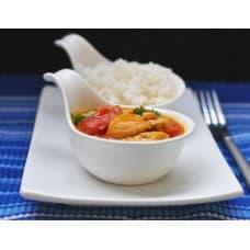 Куриный карри с рисом